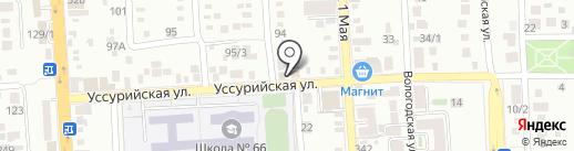 Сеть аптек на карте Краснодара