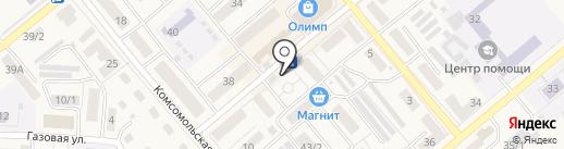 Киоск по продаже фруктов и овощей на карте Семилуков