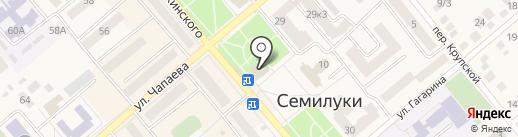 Фабрика Окон на карте Семилуков