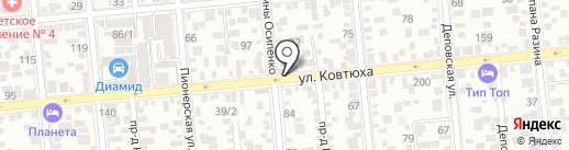 Tirework на карте Краснодара