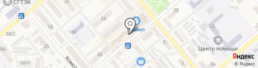 Гав мяу на карте Семилуков