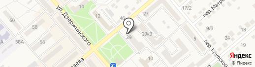 Москвич на карте Семилуков