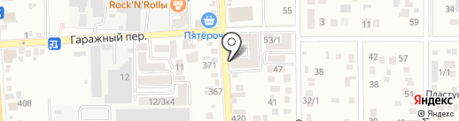 Шашлычная на карте Краснодара