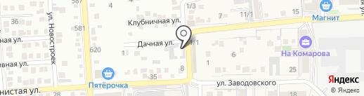 Автомойка на карте Российского