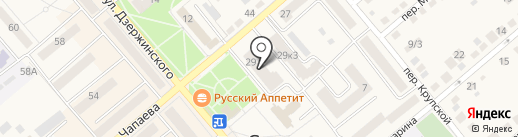 Радуга на карте Семилуков