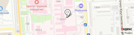 Почтовое отделение №86 на карте Краснодара
