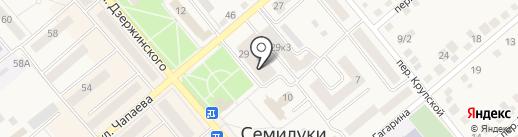 Мастерская по ремонту обуви на карте Семилуков