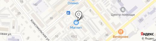 Киоск по продаже кондитерских изделий на карте Семилуков