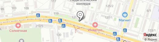 Диа-Лайт на карте Краснодара