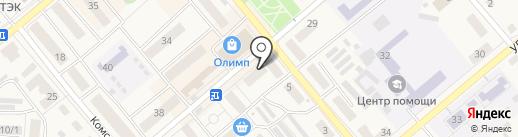 Априори на карте Семилуков