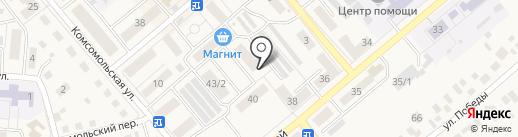 ДОН на карте Семилуков