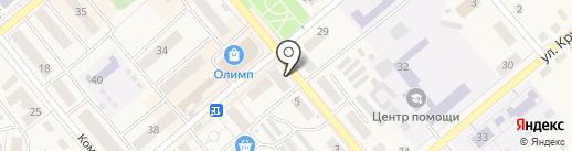 Золотой Телец на карте Семилуков