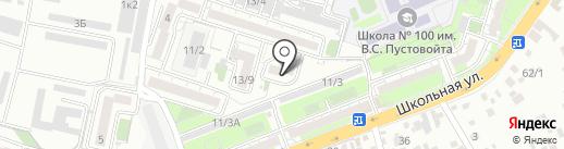 Продлёнка на карте Краснодара