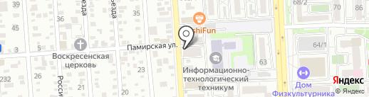 Арес на карте Краснодара