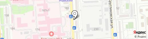 Moda City на карте Краснодара