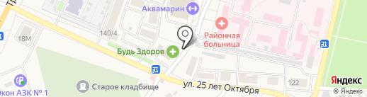 Шоколад на карте Семилуков