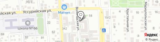 Aura на карте Краснодара