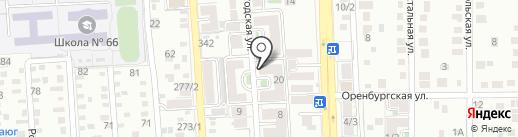 Шаг за Шагом на карте Краснодара