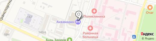 Аквамарин на карте Семилуков