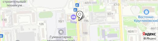 Контакт-сервис на карте Краснодара