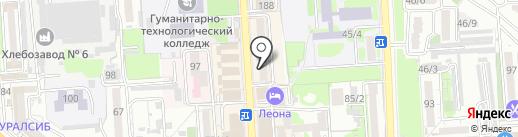 Магазин посуды и сувениров на карте Краснодара