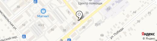 Мастердом на карте Семилуков