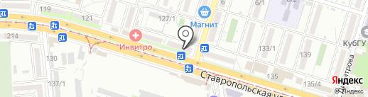 Lusi на карте Краснодара