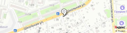 Re Fresh Service на карте Краснодара