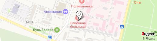 Семилукская районная больница им. А.В. Гончарова на карте Семилуков