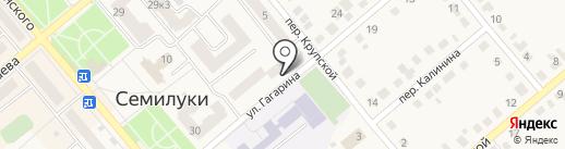 Участковый пункт полиции №1 на карте Семилуков