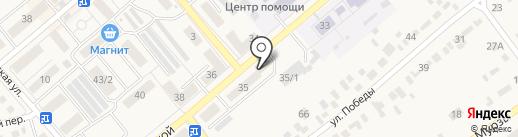 Вечерний на карте Семилуков
