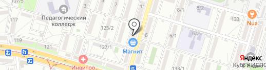Агрокомплекс на карте Краснодара