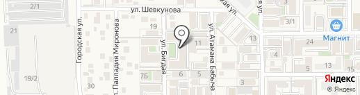 Хуршеда на карте Российского