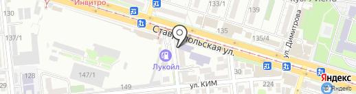 Шаг вперед на карте Краснодара