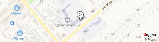 Семилукский центр психолого-педагогической, медицинской и социальной помощи на карте Семилуков