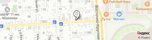 Бюро ритуальных услуг на карте Краснодара