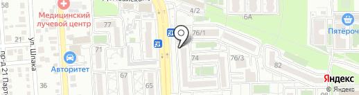 Хостел длительного проживания на карте Краснодара
