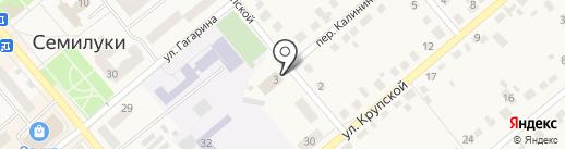Семилукская ДЮСШ единоборств на карте Семилуков