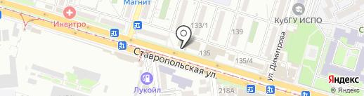 Angels на карте Краснодара