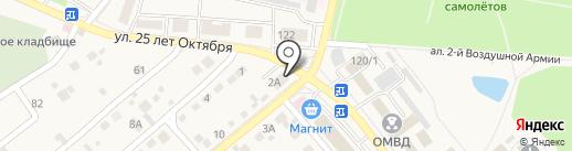 Объектив на карте Семилуков