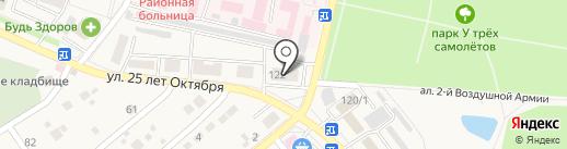 Стеклопроект на карте Семилуков