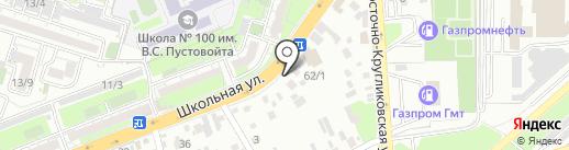 Мясной магазин на карте Краснодара