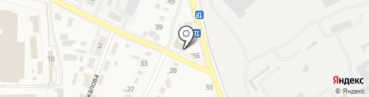 Нива 3 на карте Семилуков