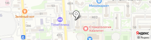 Сантехмонтаж-Юг на карте Краснодара