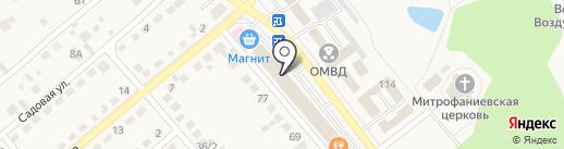 Магнит Косметик на карте Семилуков