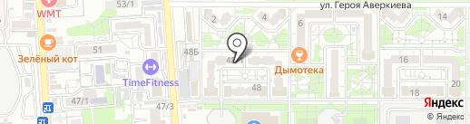 Zara на карте Краснодара