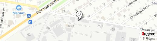 ВипАвтоКар на карте Краснодара