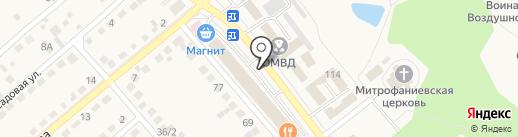 Страховой агент на карте Семилуков