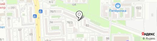 Двери & Ламинат на карте Краснодара