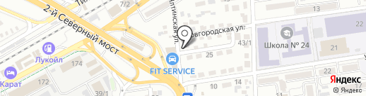 BM WEB STUDIO на карте Краснодара
